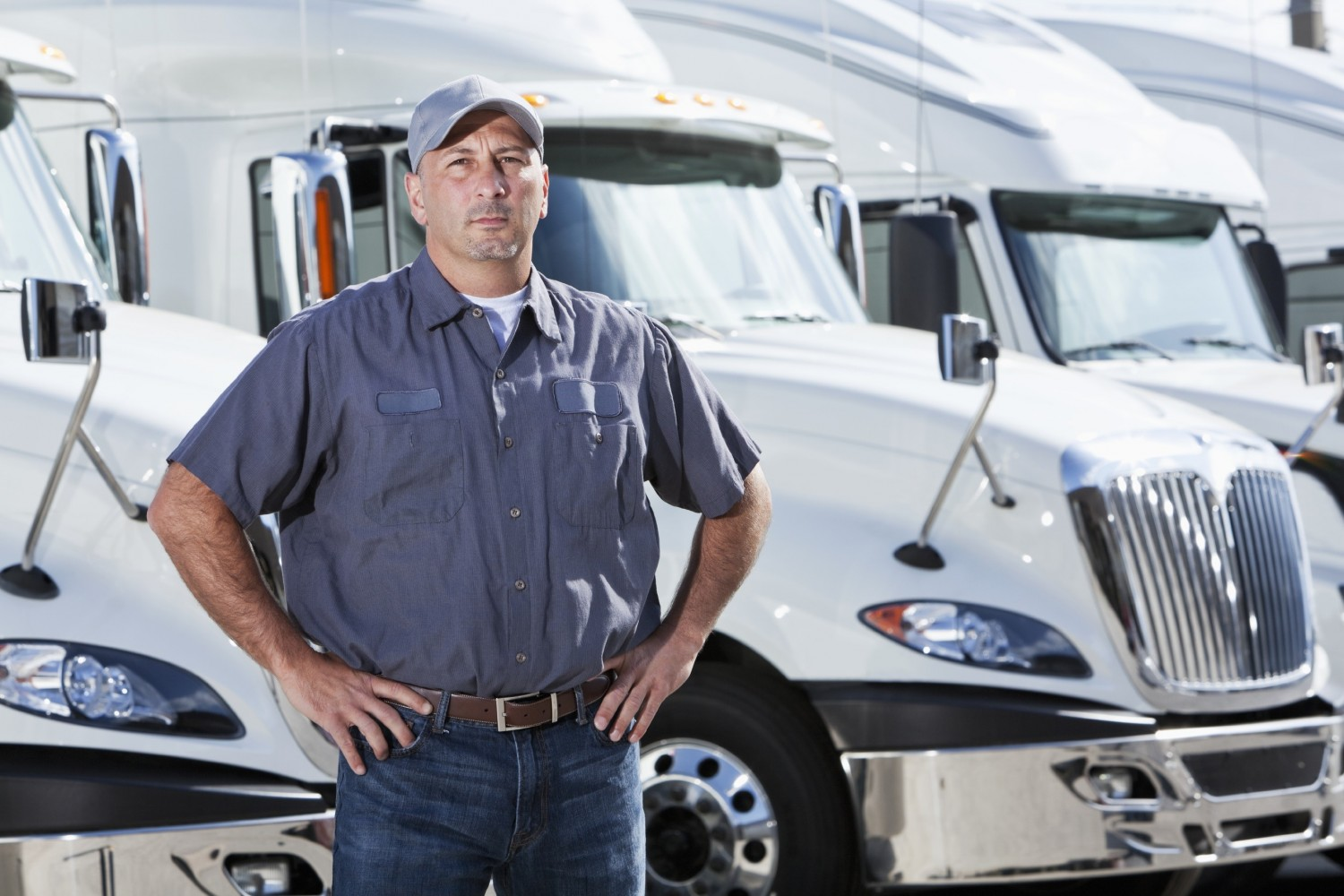 become truck driver