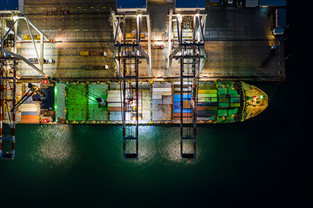 Transport car by ship sevices 1